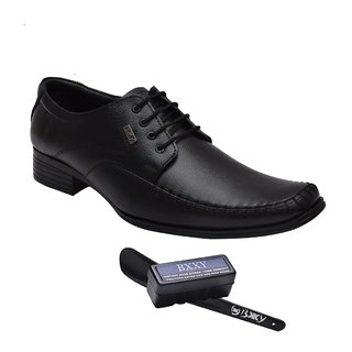 BXXY BLACK GENUINE LEATHER Formal Shoe