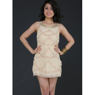 Schwof Lace Scoop Dress