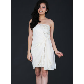 Schwof Almond Lace Dress