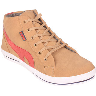 Stardom Mens Beige Casual Shoes