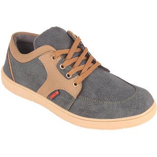 Stardom Mens Grey Casual Shoes