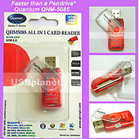 NEW All In One Quantum QHM-5085 Multi Memory Card Reader USB 2.0