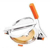 Lucky Gold MANUAL STAINLESSSTEEL PURI PRESS PURI MAKER PAPAD MAKER CHAPATI MAKER ROTI MAKER