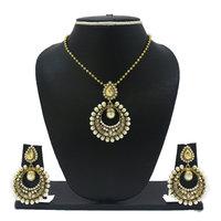 Zaveri Pearls Ethnic Moti Pendant Set For Women -ZPFK2061