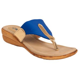 Tulaasi Casual Blue Medium Heel Sandal For Girls