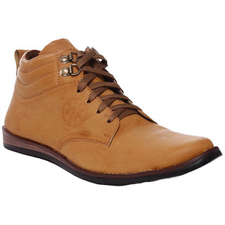 Rock Vision Mens Tan Casual Shoes
