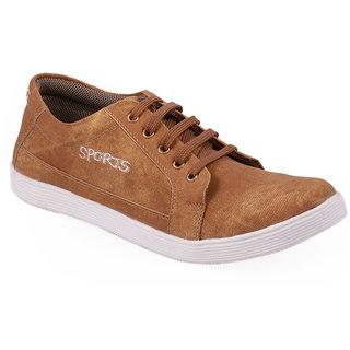 Stylos Mens Tan Casual Shoes