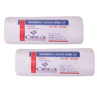 CARE X ABSORBENT COTTON ROLL 200 GRAMS EACH PACK OF 2