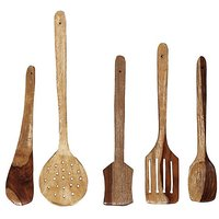 Set Of 5 Wooden Spoons