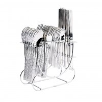 Shapes Alpine 24 Pcs. Cutlery Set With R.stand. (Dk)
