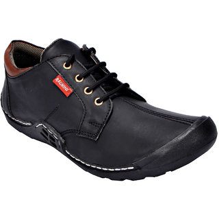 Bachini Men's Casual Shoes 1536-Black