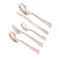 Shapes Hammer Spoons, Forks & Serving Spoons Set 26 Pcs.
