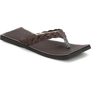 Tactic Men's Brown Slip On Sandal