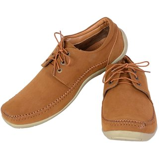 Shoebook Casual Derby Tan Lace UP Lace Up