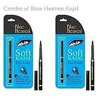 The Beauty From New Blue Heaven Soft Kajal Eye Liner Combo Of 2