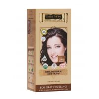 Indus Valley 100 Botanical Organic Healthier Hair Colour, LIGHT BROWN - 86995540