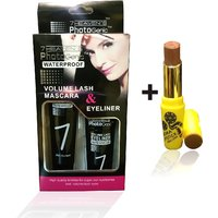 Combo Of Complete Makeover Cinemetic Lipstick,Eyeliner