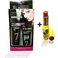 Combo Of Complete Makeover Cinemetic Lipstick,Eyeliner - 87039990