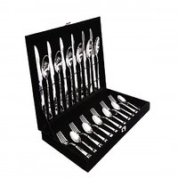 Shapes Artic Cutlery Set Of Black Box With 24 Pcs.