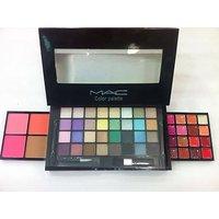 Mac MakeUp Palette 32 Color Eyeshadow 4 Color Blusher 16 Color Lip-Gloss