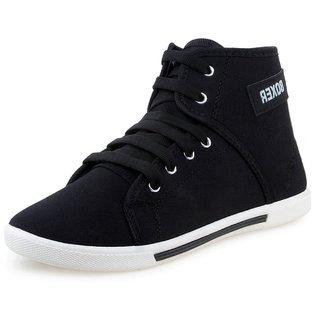 Boxer Men's Black Casual Shoes