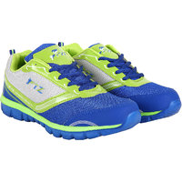 Fitze Sports Shoes For Men Made By Mesh Textile And Eva Sole Royal Blue