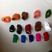 Mix ColorFul Hair Rubber Bands  (Pack Of 72 Pieces)