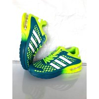 Imported Sports Running Shoes Dark Green Yellow
