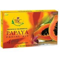 SHALU COSMETIC Blemish  Tan Removal Papaya Facial Kit-Free Papaya Face Wash
