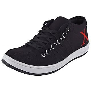 Sparx Mens Canvas Shoes For Mens Black