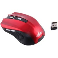 Ad Net AD-868 Bluetooth/Wireless Mouse-Red