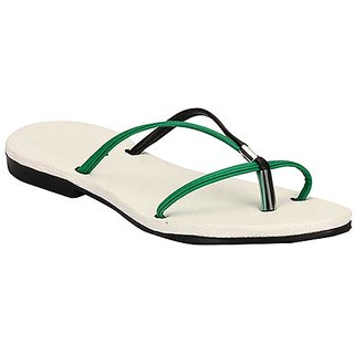 Yepme Women's Green Sandals - Option 4