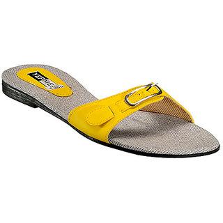 Yepme Women's Yellow Stylish Design Sandals