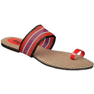 Yepme Women's Red Stylish Sandals