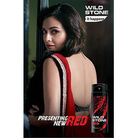Wild Stone Red Deodorant Spray - (For Men) (Pack Of 2)
