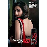 Wild Stone Red Deodorant Spray - (For Men) (Pack Of 2)