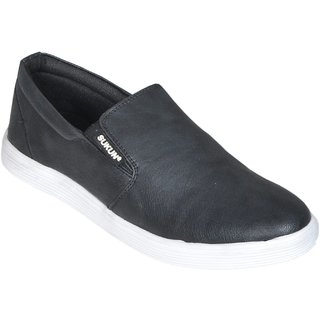 Sukun Black Casual Shoe For Men (MK184BLK)