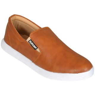 Sukun Tan Casual Shoe For Men (MK184TAN)
