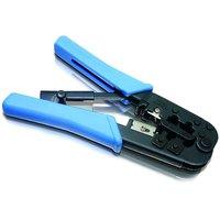 MODULAR DUAL CRIMPING TOOL RATCHET Type 8p, 6p FOR RJ45, RJ11, RJ12 - 87880742