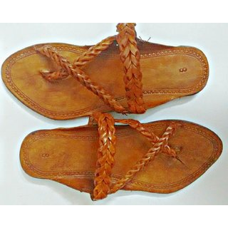 Kolhapuri Chappals (Men)  Ethnic Craftsmanship With Anti Skid Sole