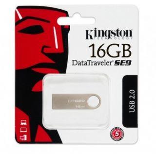 Kingston DataTraveler SE9 8 GB Pen Drive (Silver)