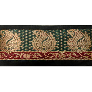 Buy 9 Meter Banarasi Zari Carry Border Lace Trim For Applique Craft