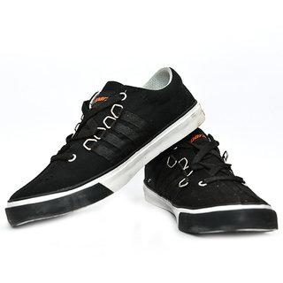 Sparx SC-162 Black Stylish Canvas Shoes For Men