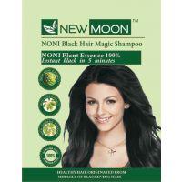 New Moon  Herbal Hair Color Shampoo 10 Sachets Hair Color Of 30 Ml