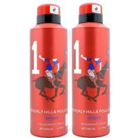 Beverly Hills Polo Club Sport 1 Deo (Pack Of 2 Pcs)-175 Ml - 88189758
