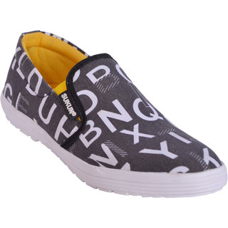 Sukun Black Casual Shoes For Men (ABCBLK)