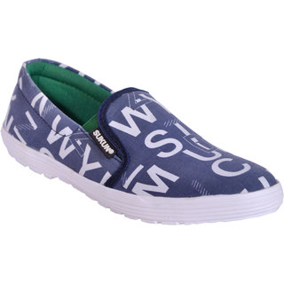 Sukun Blue Casual Shoes For Men (ABCBLU)