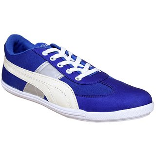 Sukun Blue  White Casual Shoes For Men (PP783BLW)