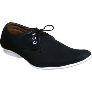 Sukun Black Casual Shoes For Men (RGL2002BLK)