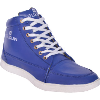 Sukun Blue Casual Shoes For Men (SKU900BLU)